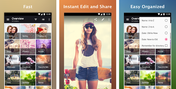 Organize Your Selfies And Videos Easily With Gallery Application