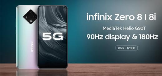 Infinix Zero 8i Smartphone Comes Up With New XOS Version !!