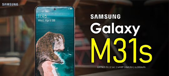 Samsung Galaxy M31s Comes With Some Great Features !!